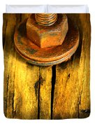 Old Bolt Duvet Cover by Newel Hunter