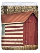 Old Country America Duvet Cover by Trish Tritz