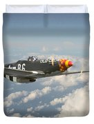 'Old Crow' Duvet Cover by Pat Speirs
