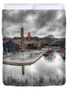 Old Dock Duvet Cover by Adrian Evans