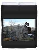 Old Grain Barn Duvet Cover by Steve McKinzie