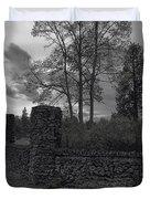 OLD LIBERTY PARK RUINS in Spokane Washington Duvet Cover by Daniel Hagerman