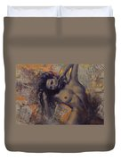 Old Love Letters Duvet Cover by Dorina  Costras