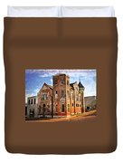 Old Mill Museum Duvet Cover by Marty Koch