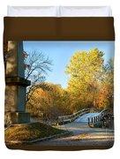 Old North Bridge Duvet Cover by Brian Jannsen