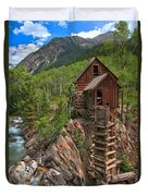Old Time Colorado Duvet Cover by Adam Jewell