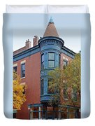Old Town Triangle Chicago - 424 W Eugenie Duvet Cover by Christine Till
