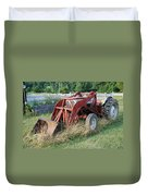 Old Tractor Duvet Cover by Jennifer Ancker