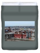 Old West Bottoms Kcmo Duvet Cover by Liane Wright