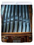Olde Church Organ Duvet Cover by Adrian Evans