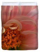 On Being A Dahlia Duvet Cover by Kathy Yates