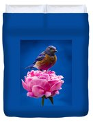 On Guard Duvet Cover by Jean Noren