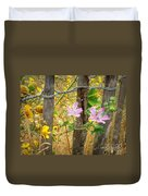 On The Fence Duvet Cover by Lainie Wrightson