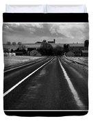 On The Road Duvet Cover by Vilas Malankar