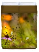 Once Upon A Time There Lived A Flower Duvet Cover by Mary Amerman