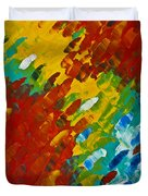 Only Till Eternity 2nd Panel Duvet Cover by Sharon Cummings