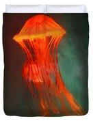 Orange Jellies Duvet Cover by Ellen Henneke