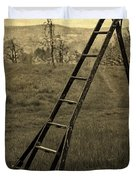 Orchard Ladder Duvet Cover by Edward Fielding