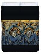 Order Of Cherubim Angels - Study No. 2 Duvet Cover by Steve Bogdanoff