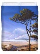 Oregon Dunes On The Coast Duvet Cover by Pat Cross