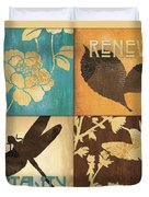 Organic Nature 4 Duvet Cover by Debbie DeWitt