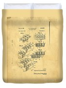 Original Us Patent For Lego Duvet Cover by Edward Fielding