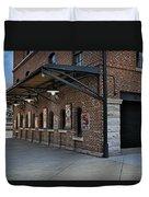 Oriole Park Box Office Duvet Cover by Susan Candelario