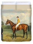 Ormonde Winner Of The 1886 Derby Duvet Cover by Emil Adam