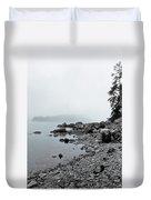 Otter Cliffs Duvet Cover by Joann Vitali