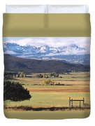 Ouray County Duvet Cover by Eric Glaser
