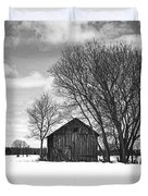 Out In The Sticks Duvet Cover by Thomas Young