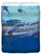 Out of the blue Off009 Duvet Cover by Carey Chen