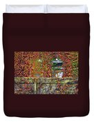 Over The Back Fence Duvet Cover by Paul W Faust -  Impressions of Light