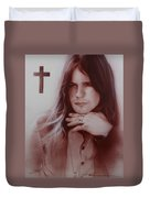 'ozzy Osbourne' Duvet Cover by Christian Chapman Art