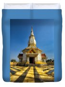 Pa Dong Wai Temple  Duvet Cover by Adrian Evans