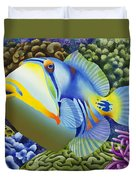 Pablo Duvet Cover by Carolyn Steele