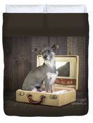 Packed And Ready To Go Duvet Cover by Edward Fielding
