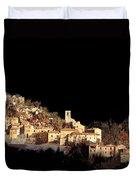 Paesaggio Scuro Duvet Cover by Guido Borelli