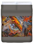 Paint Number 44 Duvet Cover by James W Johnson