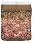 Paint Number 56 Duvet Cover by James W Johnson
