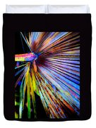 Palmetto Gone Wild Duvet Cover by Stephen Anderson