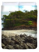 Panama Island Duvet Cover by Carey Chen