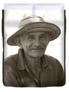 Panamanian Country Man Duvet Cover by Heiko Koehrer-Wagner