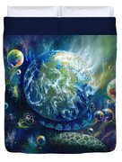 Pangaea Duvet Cover by Kd Neeley