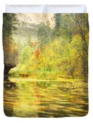 Parade Of Autumn Duvet Cover by Peter Coskun