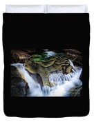 Paradise Rocks Duvet Cover by Inge Johnsson