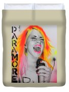 'paramore' Duvet Cover by Christian Chapman