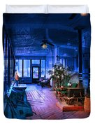 Paranormal Activity Duvet Cover by Gunter Nezhoda