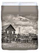 Parker Homestead Duvet Cover by Ken Smith
