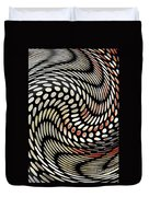 Particles In Curved Space Duvet Cover by Sarah Loft
